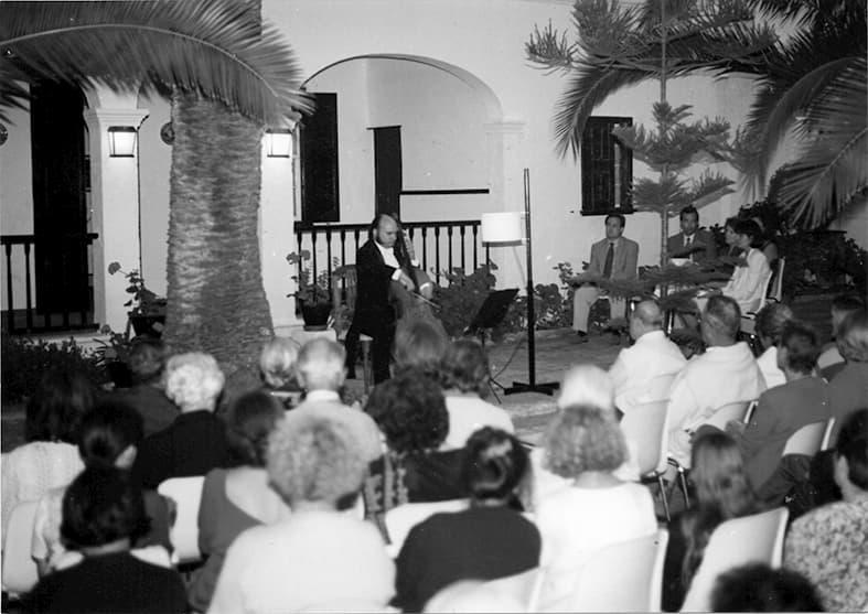 Josep Bassal, chelo – Villa Jardín 1995